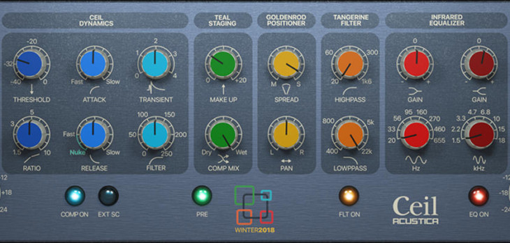 Acustica Audio Ceil VST/AU Plugin Is FREE Until February 14th!