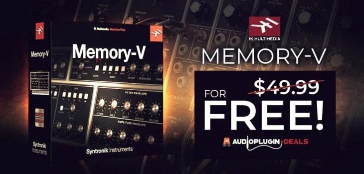 Download IK Multimedia Memory-V For FREE @ AudioPluginDeals