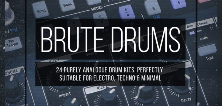 Free Arturia DrumBrute Sample Pack Released By Drum Depot