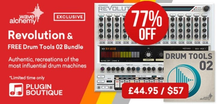 Get 77% OFF Wave Alchemy Revolution + FREE Sample Pack