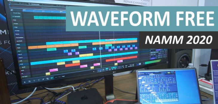 Waveform Free DAW Announced At NAMM 2020