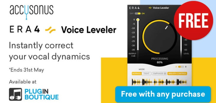 ERA 4 Voice Leveler Is FREE With Any Purchase
