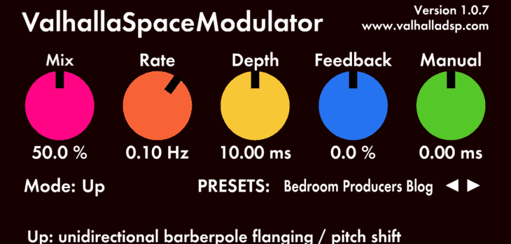Valhalla Space Modulator by ValhallaDSP
