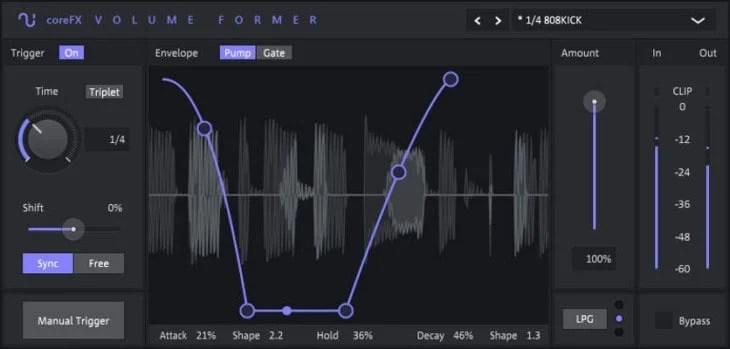 coreFX VolumeFormer by Magix