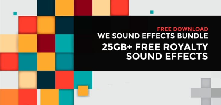 We Sound Effects Bundle 2020
