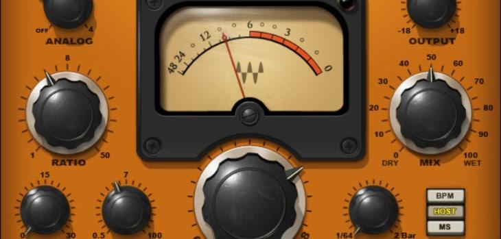 Waves H-Comp Hybrid Compressor Is FREE @ Reason Studios