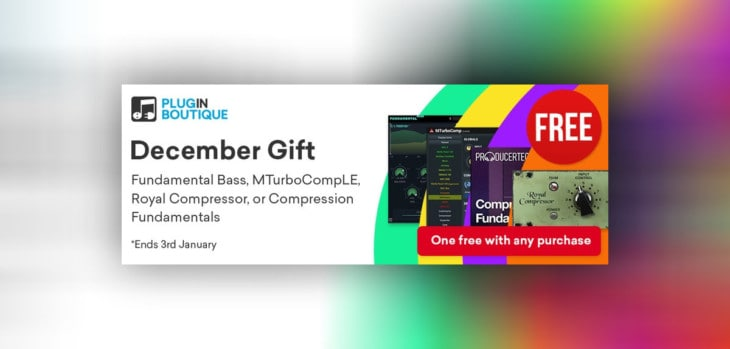 Get A FREE Compressor With Any Purchase @ Plugin Boutique