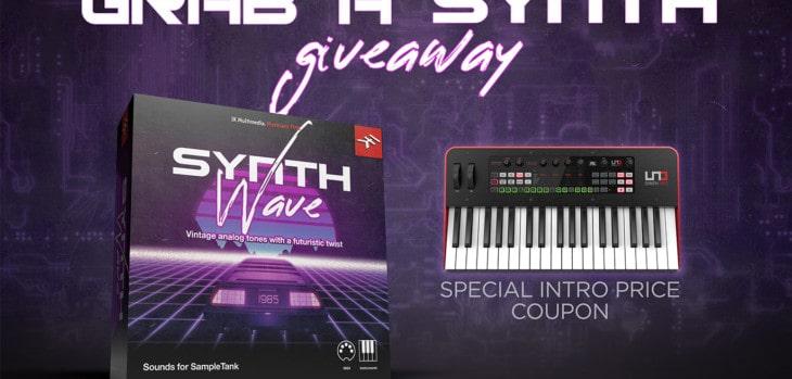 IK Multimedia Offers FREE Synthwave For SampleTank