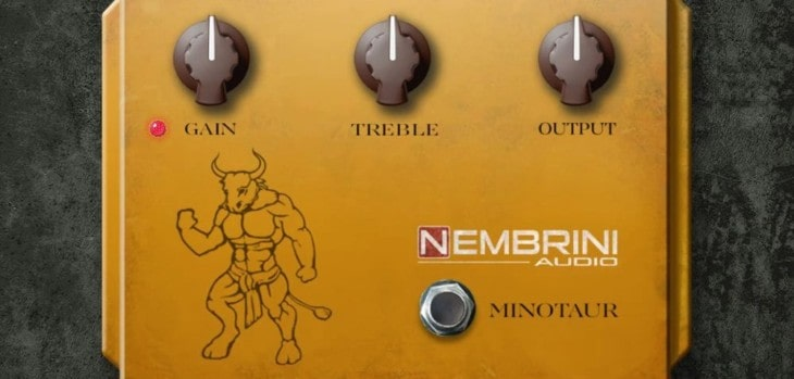 Klon Centaur Guitar Pedal by Nembrini Audio