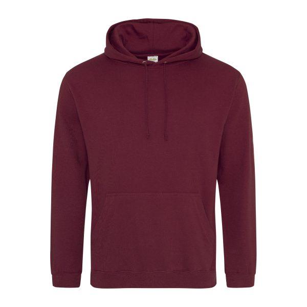bordeaux kleur hoodie - bedruk mijn hoody