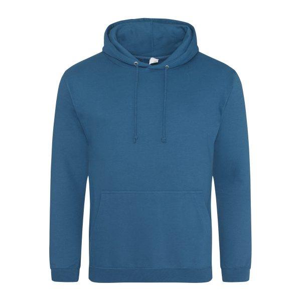 diep zee blauw kleur hoodie - bedruk mijn hoody
