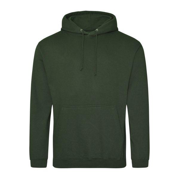 bos groen kleur hoodie - bedruk mijn hoody