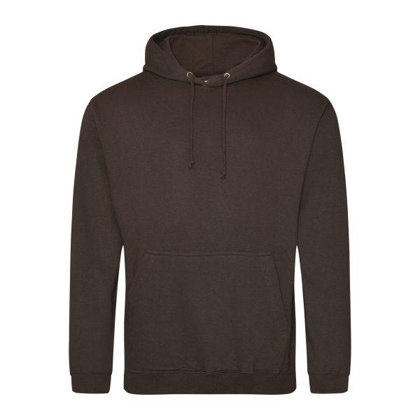 Hot chocolate - donker chocola kleur hoodie - bedruk mijn hoody