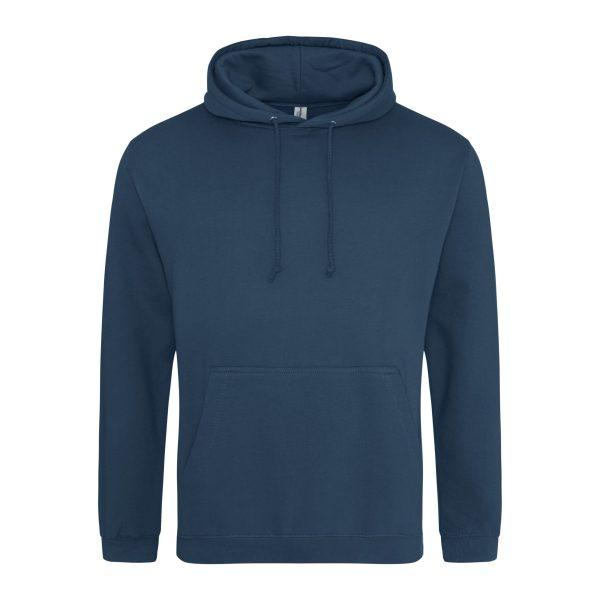 Inkt blauw kleur hoodie - bedruk mijn hoody