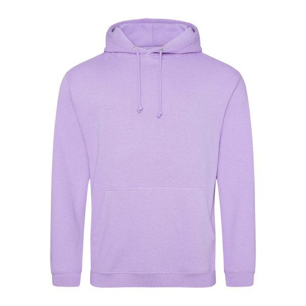 Lavendel kleur hoodie - bedruk mijn hoody