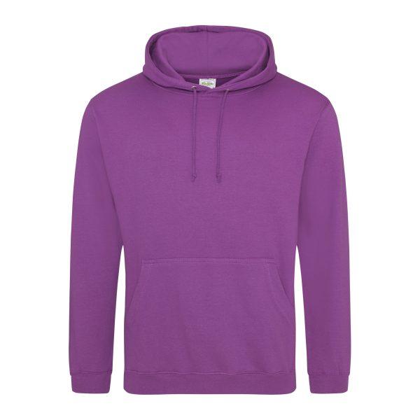 Magenta magic kleur hoodie - bedruk mijn hoody