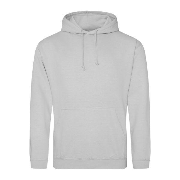 maanstof grijs kleur hoodie - bedruk mijn hoody