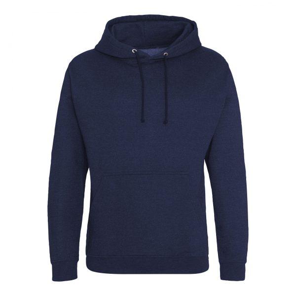 Marine rook kleur hoodie - bedruk mijn hoody
