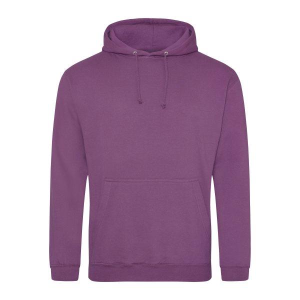 roze paars kleur hoodie - bedruk mijn hoody