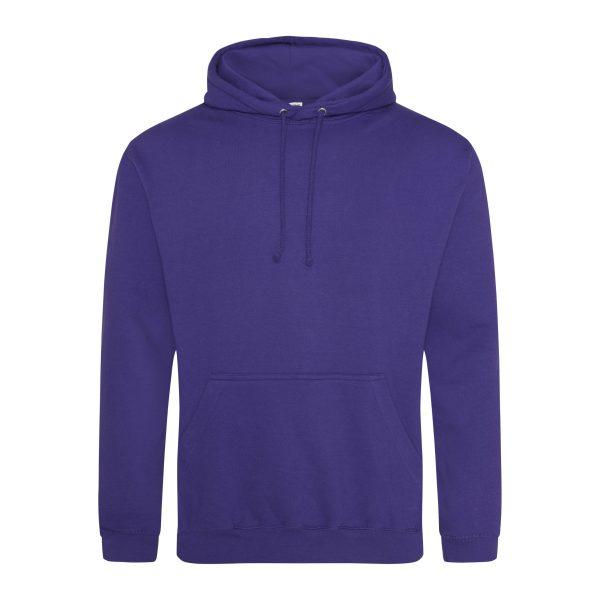 ultra violet kleur hoodie - bedruk mijn hoodie