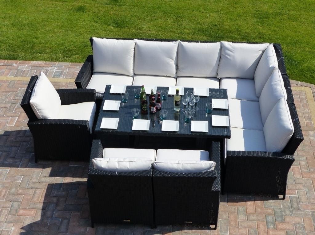 Rattan Sofa Set 4 Piece