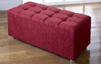 *NEW* Ottoman Storage Blanket Box in Chenille