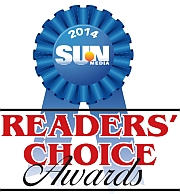 SUN Readers Choice Award 2014