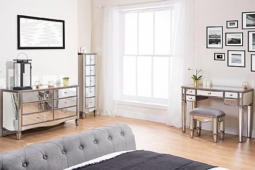 elysee mirrored bedroom furniture