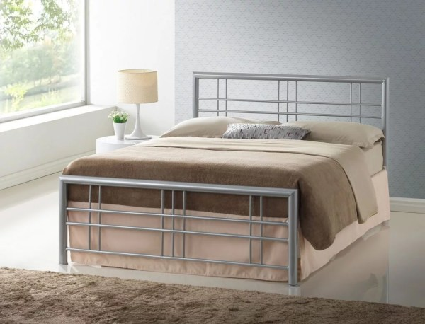 Paxos Metal Bed Frame - Bf Beds Leeds Cheap