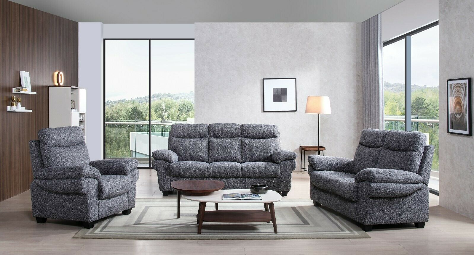3 2 1 Sofa Set Luxury Tanya Sofa Suite Fabric Free Delivery