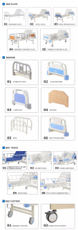 Wholesale Hospital Bed Companies In China China Quality Hospital Bed Manufacturers Kangli Medical