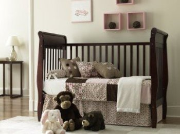 Graco Sarah Crib_Cinnamon Daybed