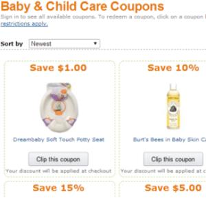 Amazon Baby Coupons