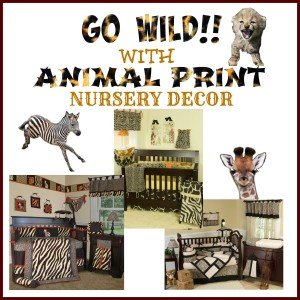 Animal Print Crib Bedding