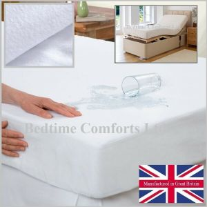 Electric Bed Waterproof Mattress Protector (with boxed skirt) Various Size's