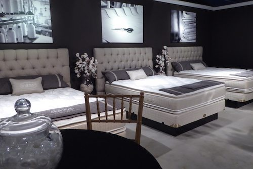 The beauty in mattress showrooms