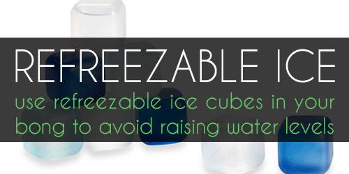 Refreezable Ice