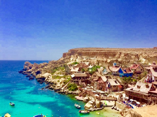 Popeye's colorful village is a great place to visit during your 5 days in Malta