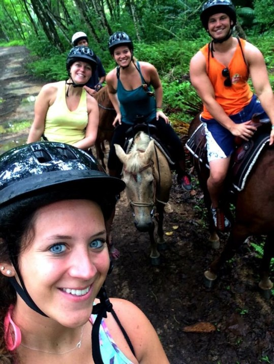 horseback riding, one of the many things to do in Bocas del Toro