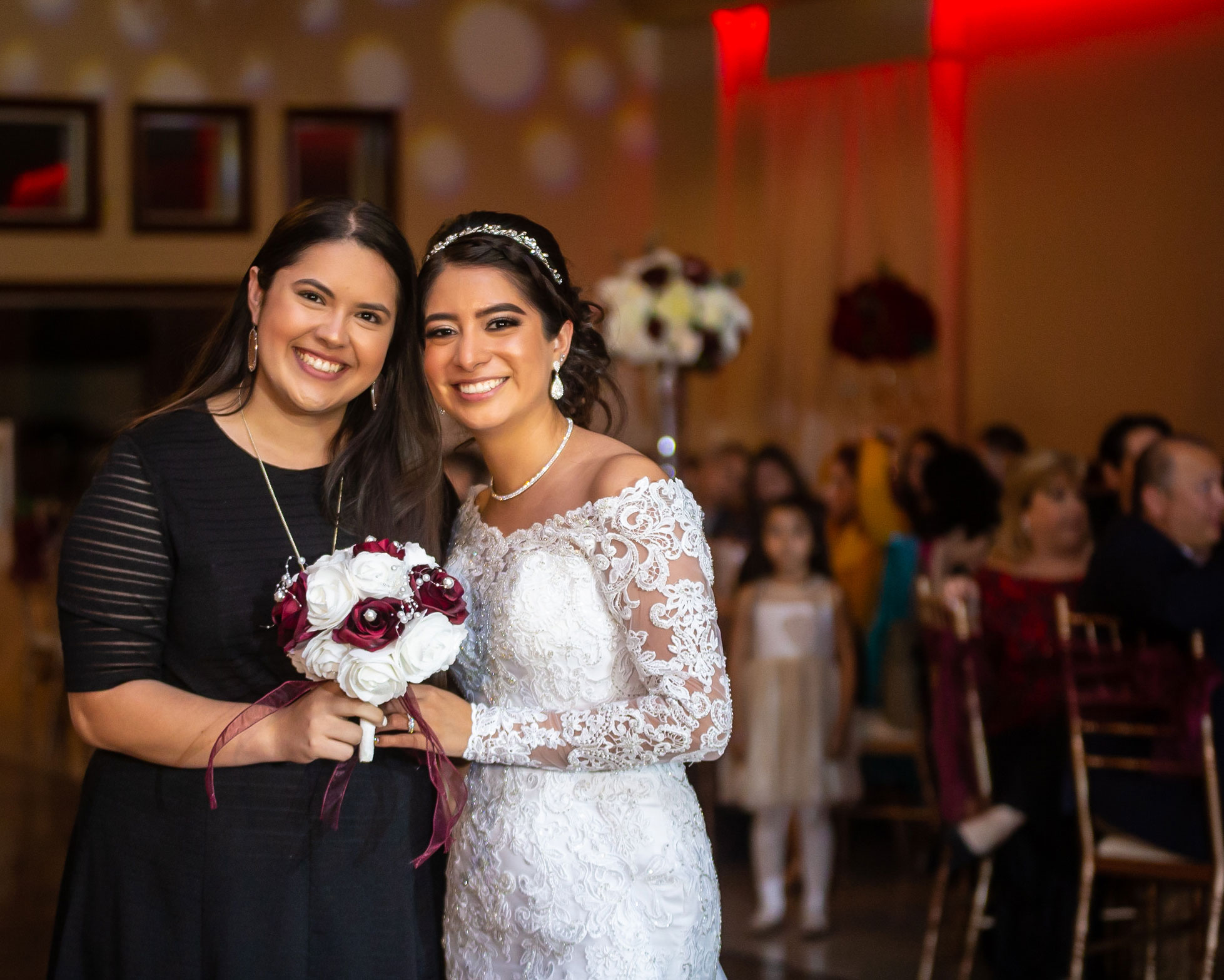 Real del Valle Event Center wedding day