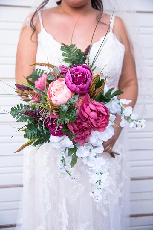 peony bridal bouquet rgv wedding bride