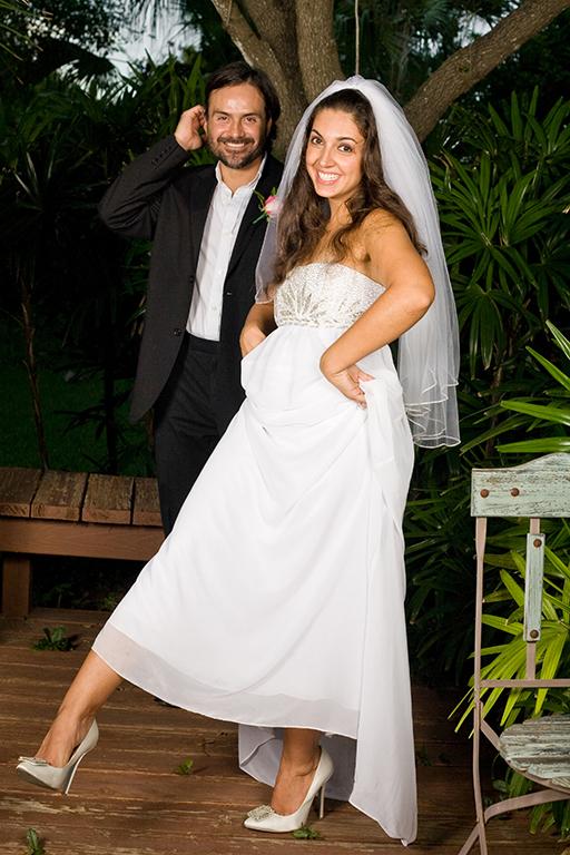 bride showing off wedding heels rgv