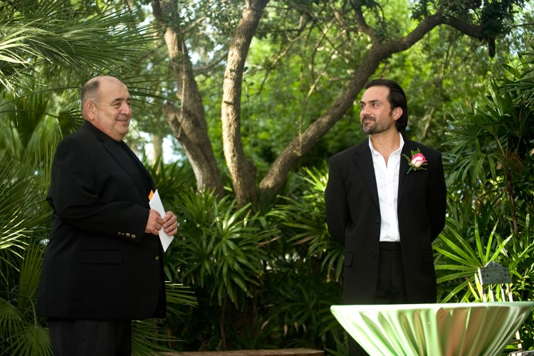 groom backyard wedding rgv