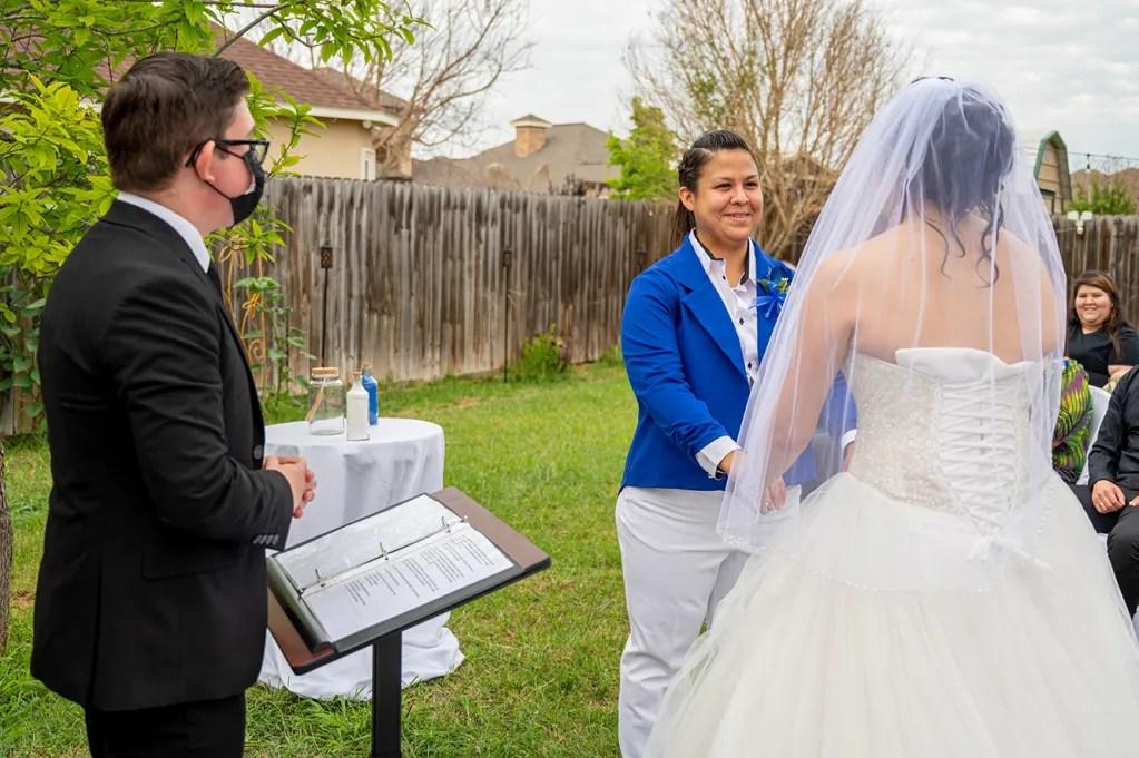 lesbian wedding edinburg texas