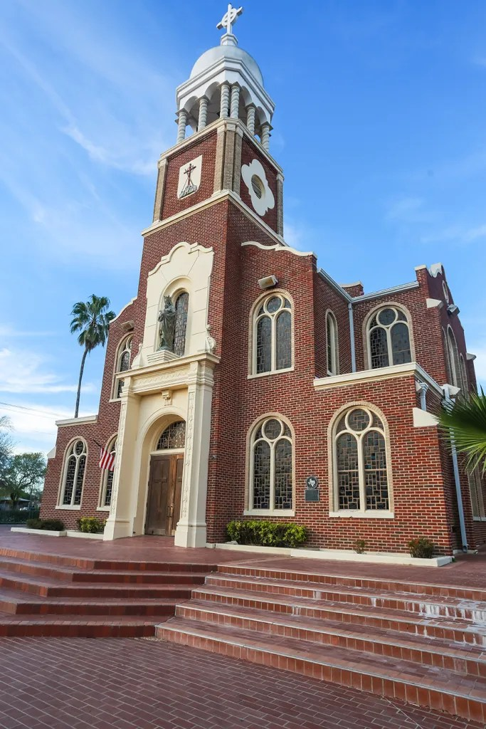 OUR LADY OF GUADALUPE CATHOLIC CHURCH, MISSION, TX