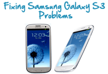 samsung galaxy s3 issues