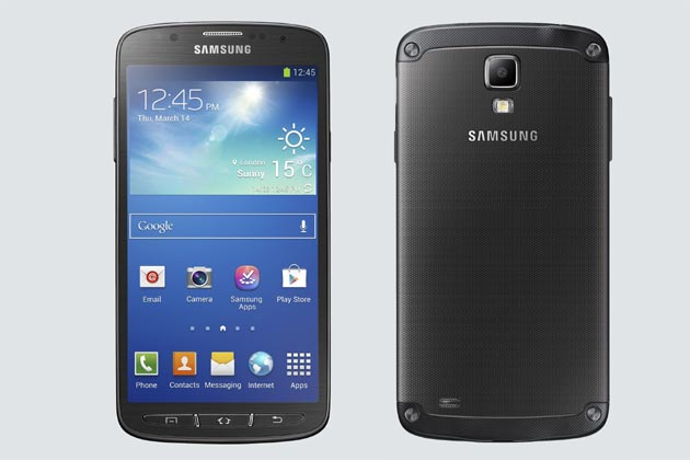 Samsung unveiled a waterproof and dust resistant Galaxy S4 Active