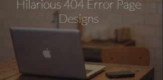 25 Fresh, Creative and Funny 404 Error Page Designs