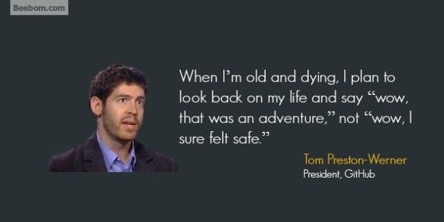 Tom Preston - Werne quotes