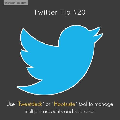 Twitter tip 20